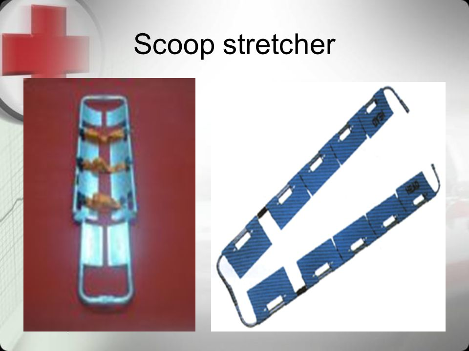 Scoop stretcher April 9, 2017