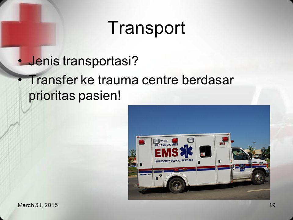 Transport Jenis transportasi