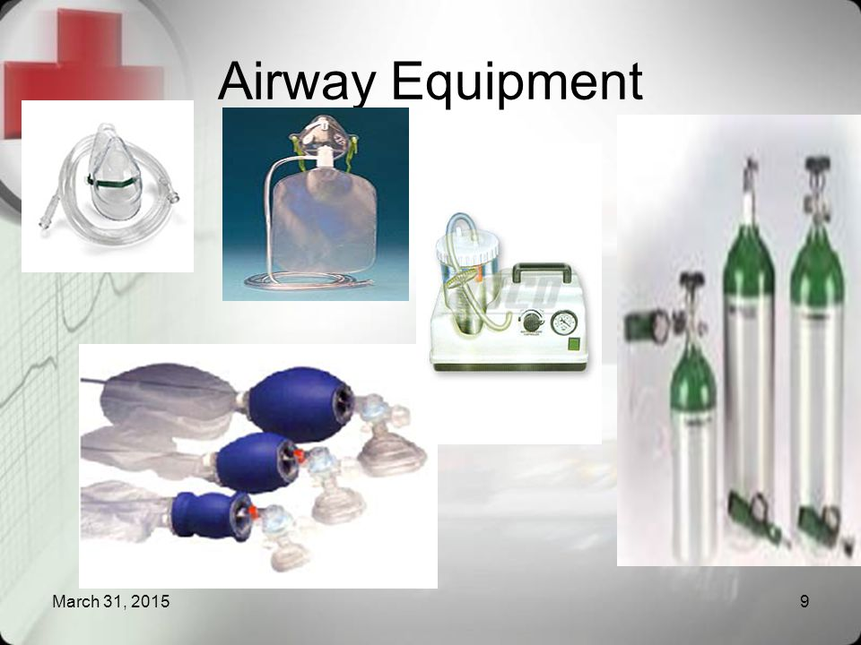 Airway Equipment April 9, 2017