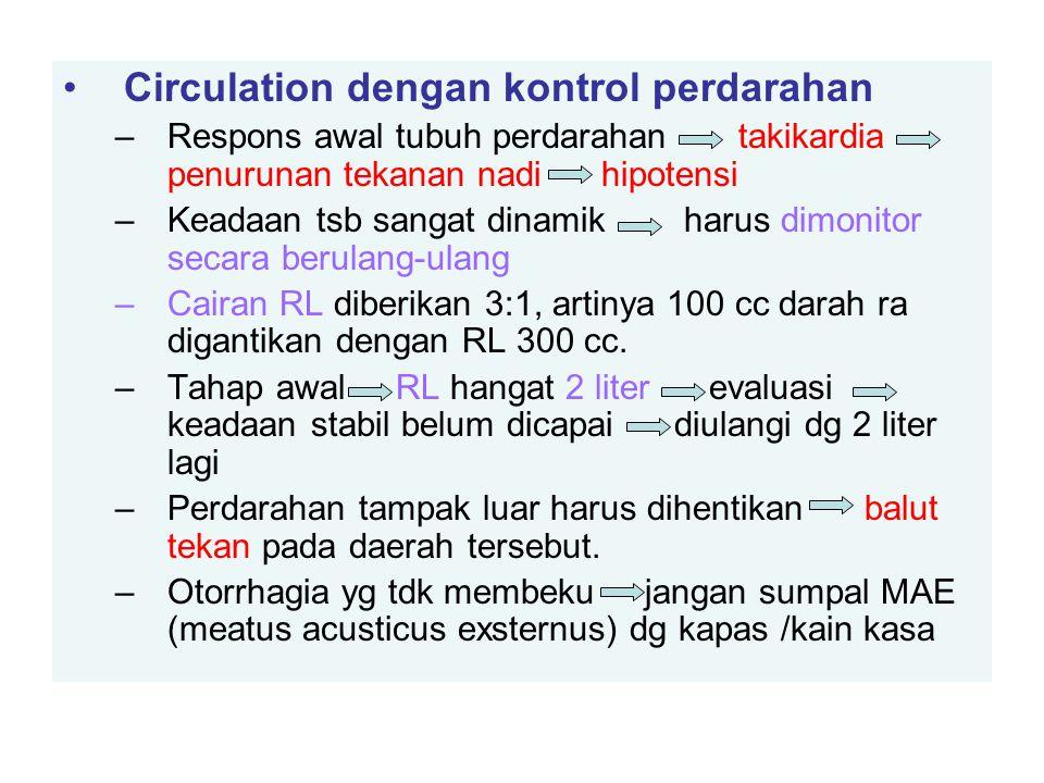 Circulation dengan kontrol perdarahan