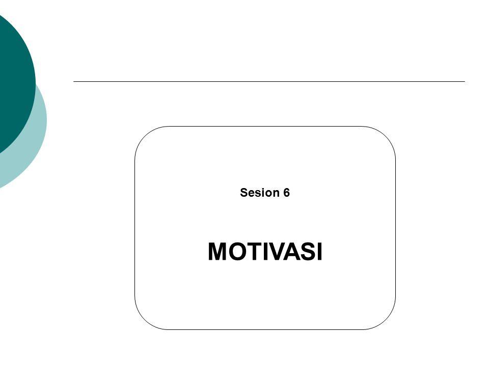 Sesion 6 MOTIVASI