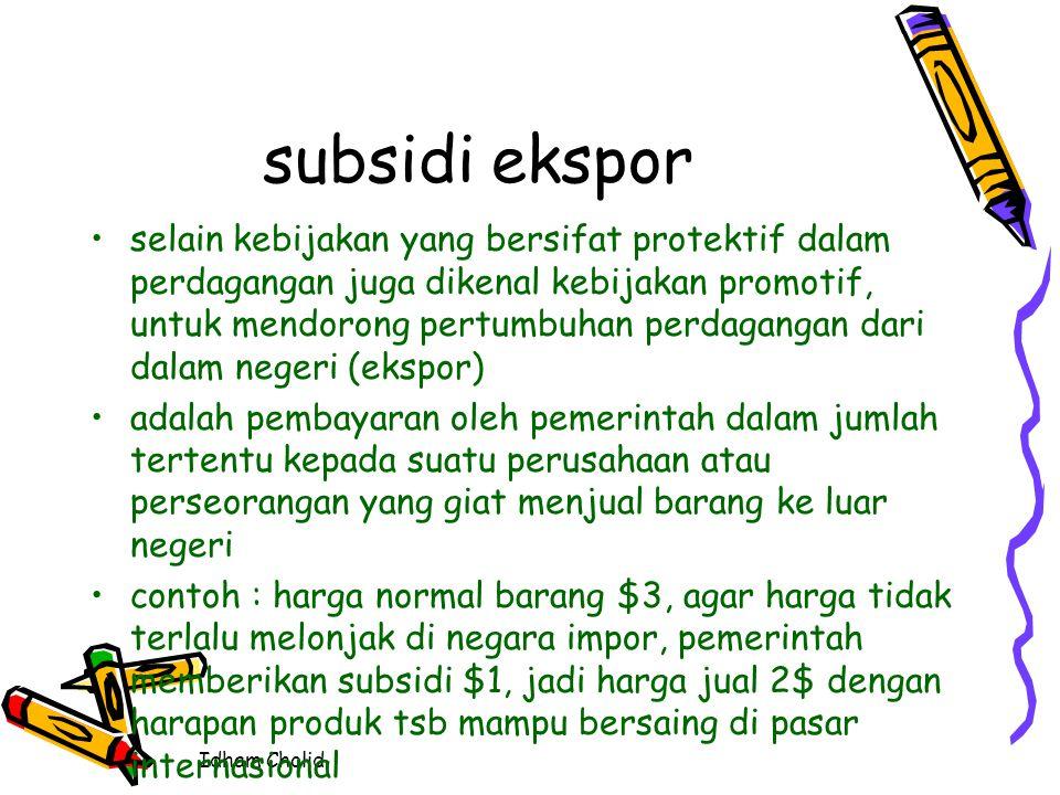 subsidi ekspor