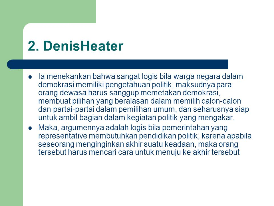 2. DenisHeater