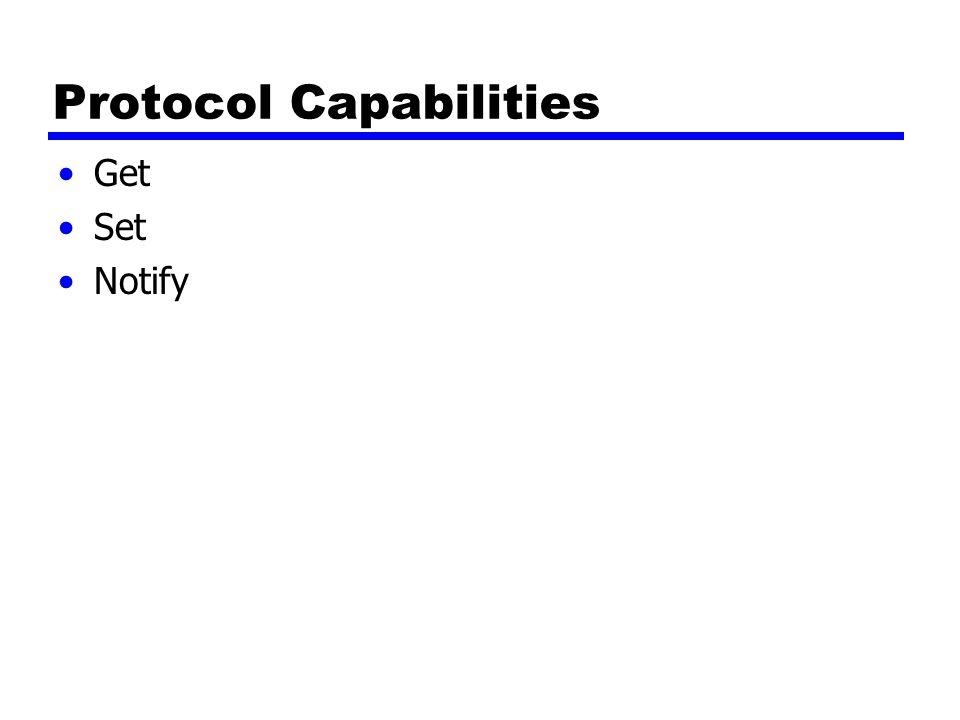 Protocol Capabilities