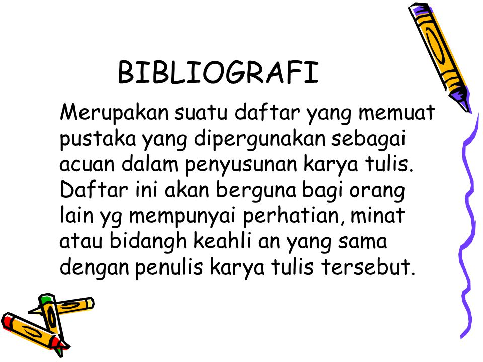 BIBLIOGRAFI