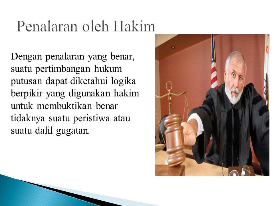 Penalaran oleh Hakim