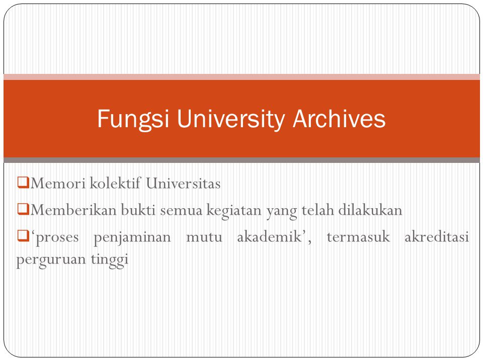 Fungsi University Archives
