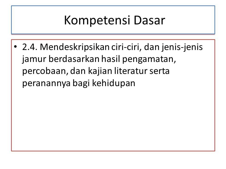 Kompetensi Dasar Kompetensi Dasar