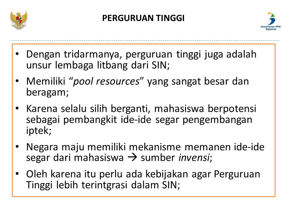 Memiliki pool resources yang sangat besar dan beragam;