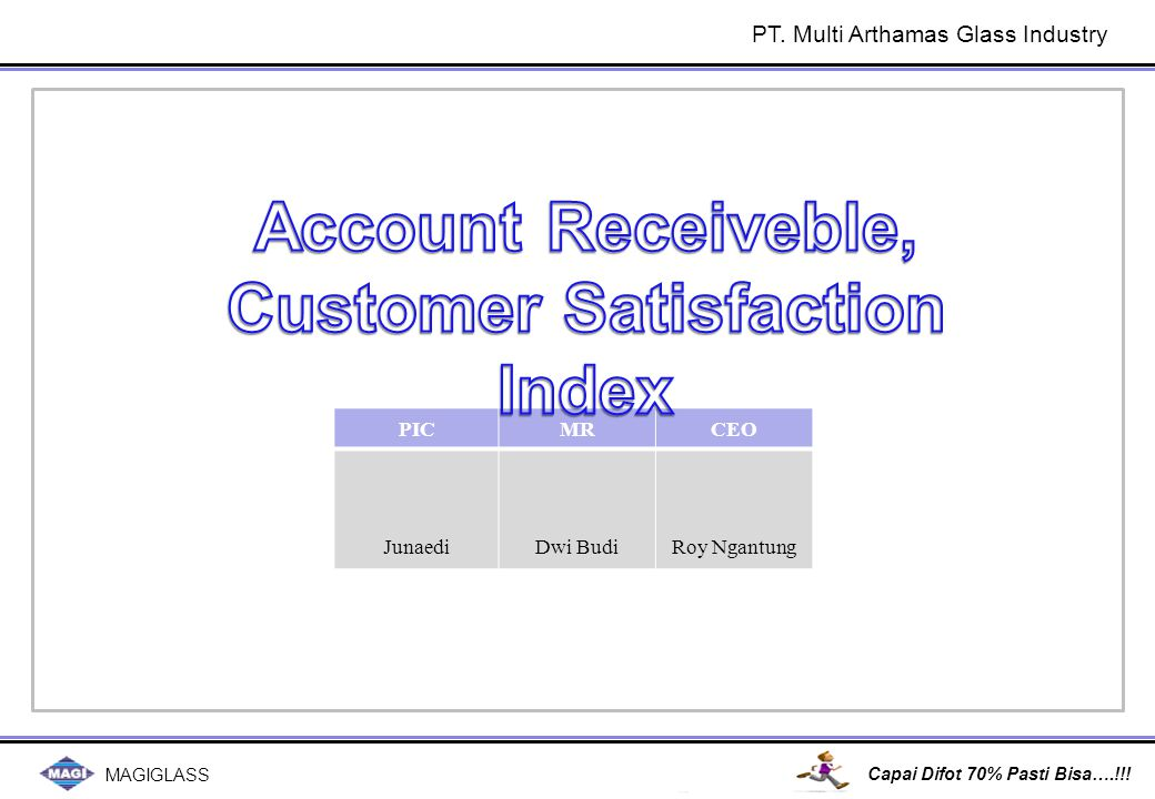 Customer Satisfation Index: