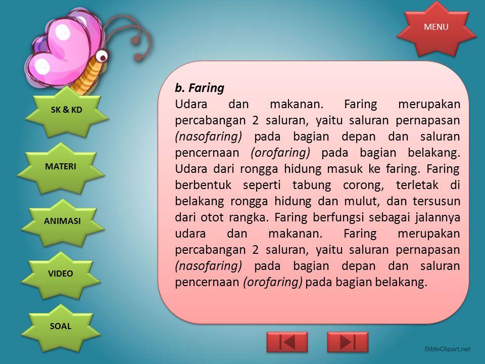 b. Faring