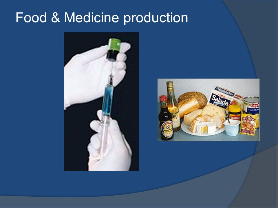 Food & Medicine production