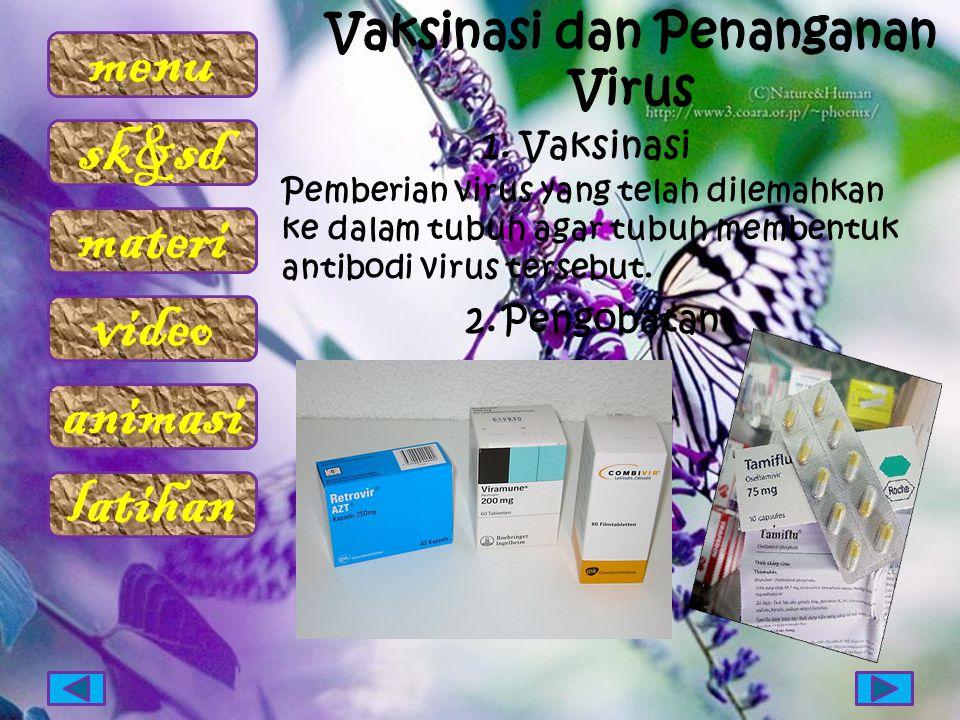 Vaksinasi dan Penanganan Virus