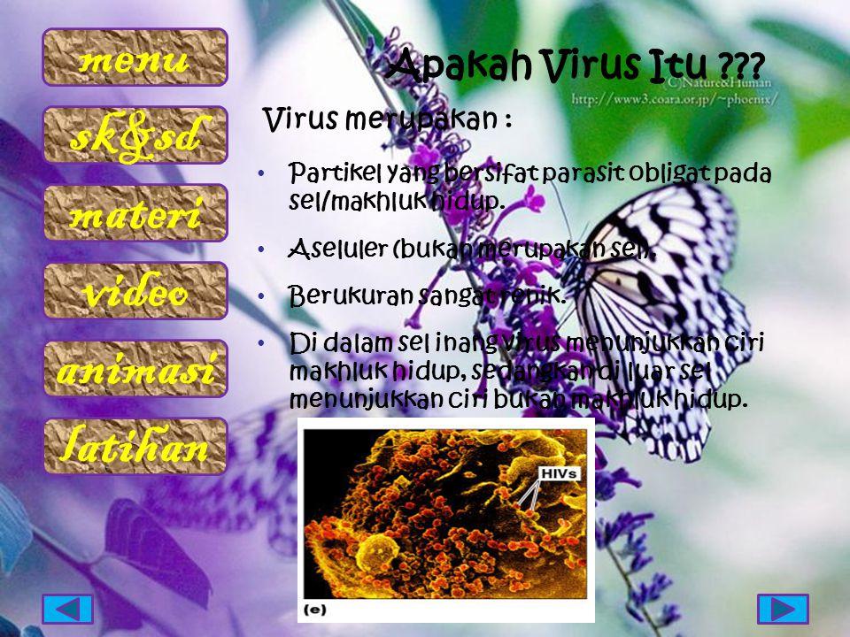 Apakah Virus Itu Virus merupakan :