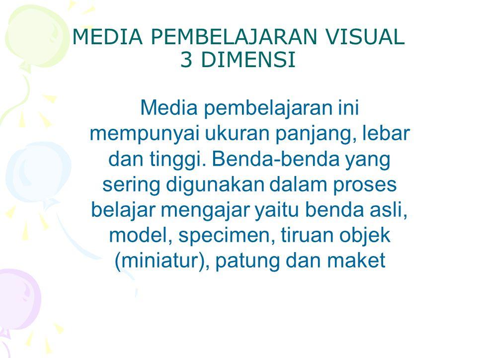 MEDIA PEMBELAJARAN VISUAL 3 DIMENSI