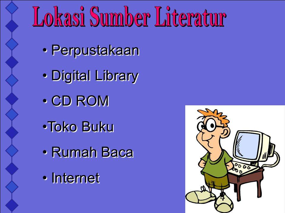 Lokasi Sumber Literatur