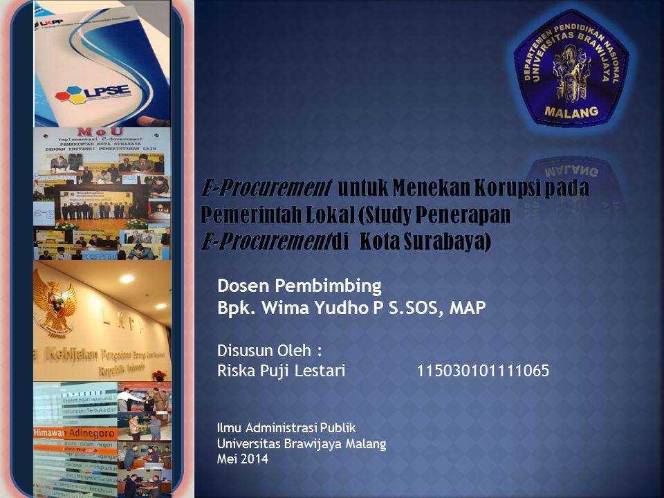 E-Procurement di Kota Surabaya)