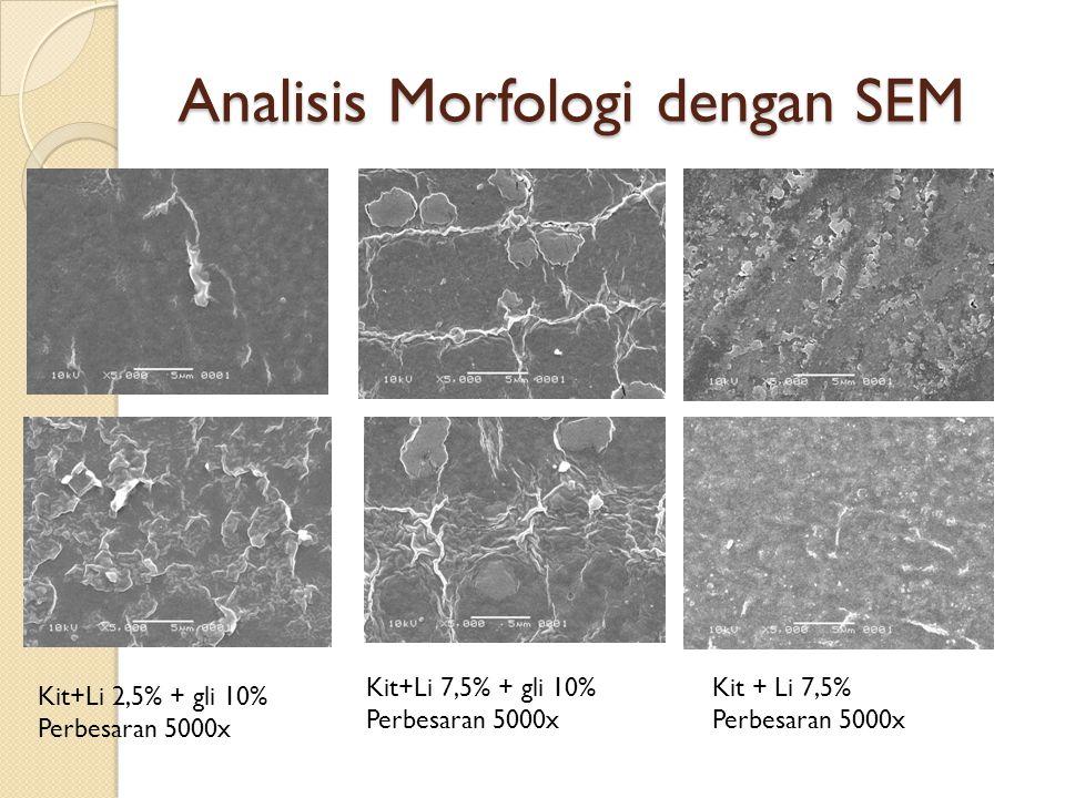 Analisis Morfologi dengan SEM