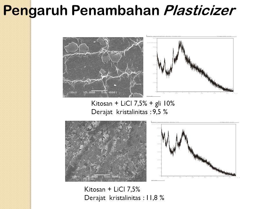 Pengaruh Penambahan Plasticizer