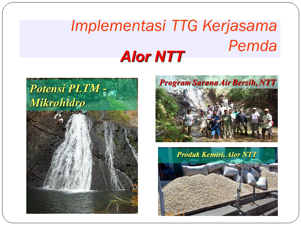 Implementasi TTG Kerjasama Pemda