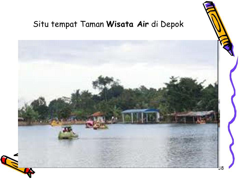 Situ tempat Taman Wisata Air di Depok
