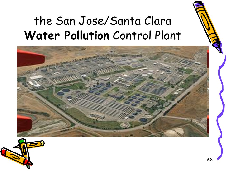 the San Jose/Santa Clara Water Pollution Control Plant