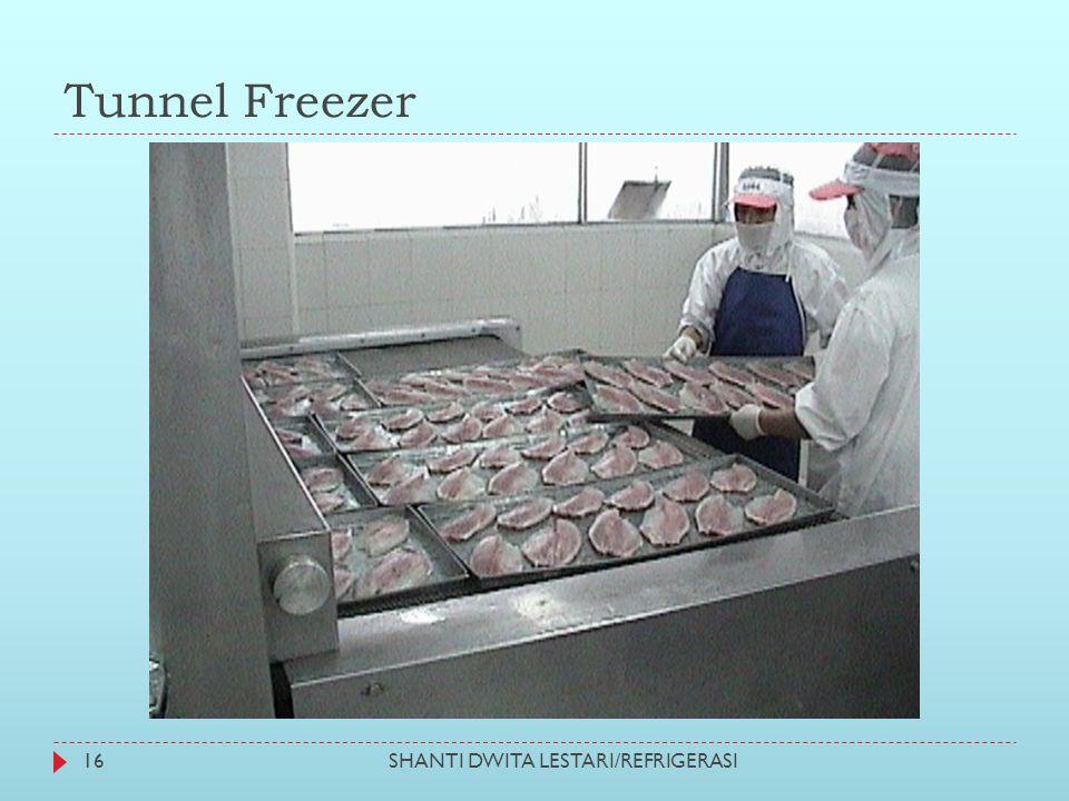 Tunnel Freezer SHANTI DWITA LESTARI/REFRIGERASI