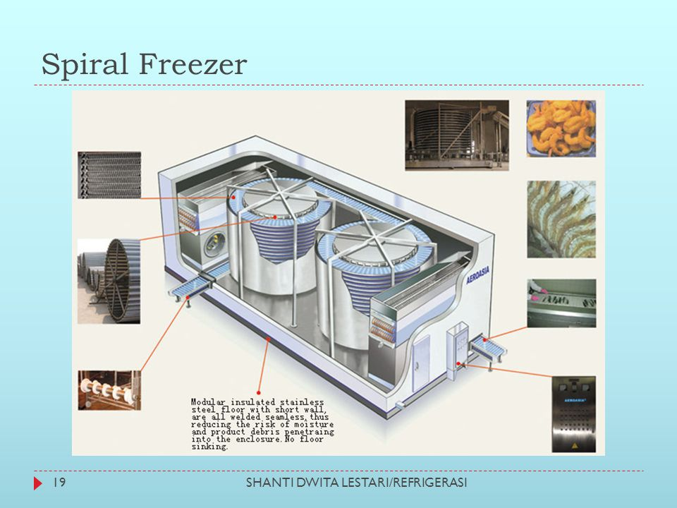 Spiral Freezer SHANTI DWITA LESTARI/REFRIGERASI