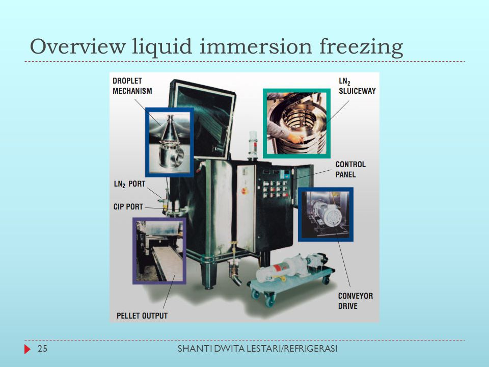 Overview liquid immersion freezing