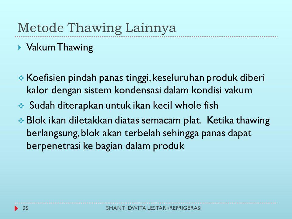 Metode Thawing Lainnya