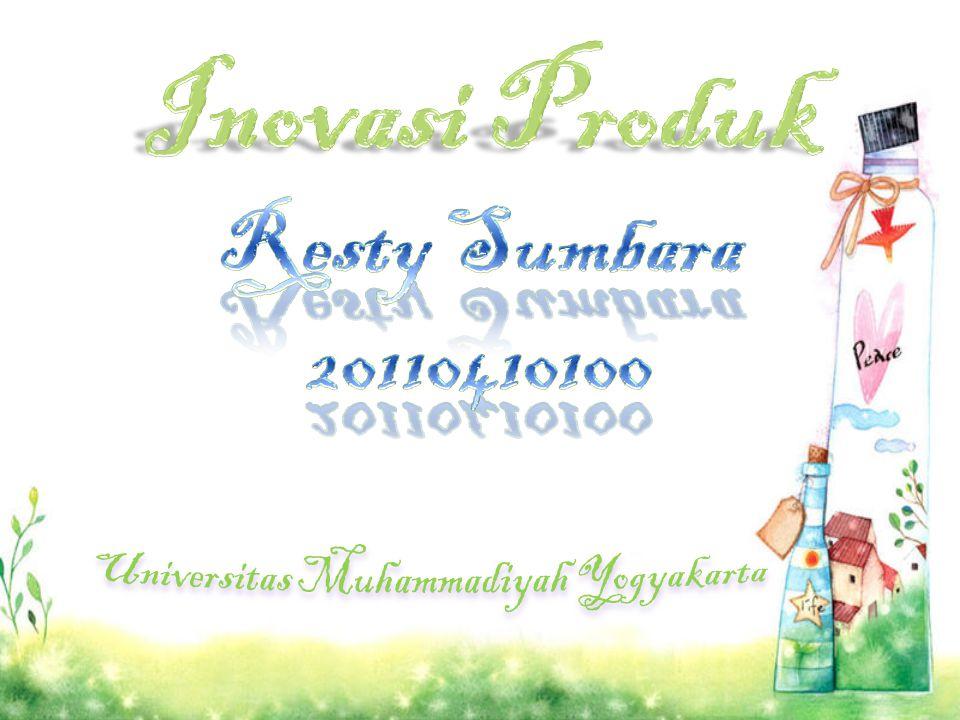 Inovasi Produk Resty Sumbara 20110410100