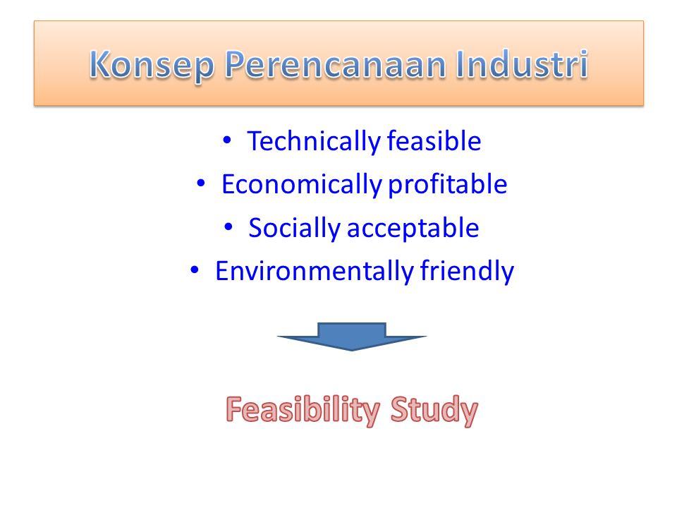 Konsep Perencanaan Industri