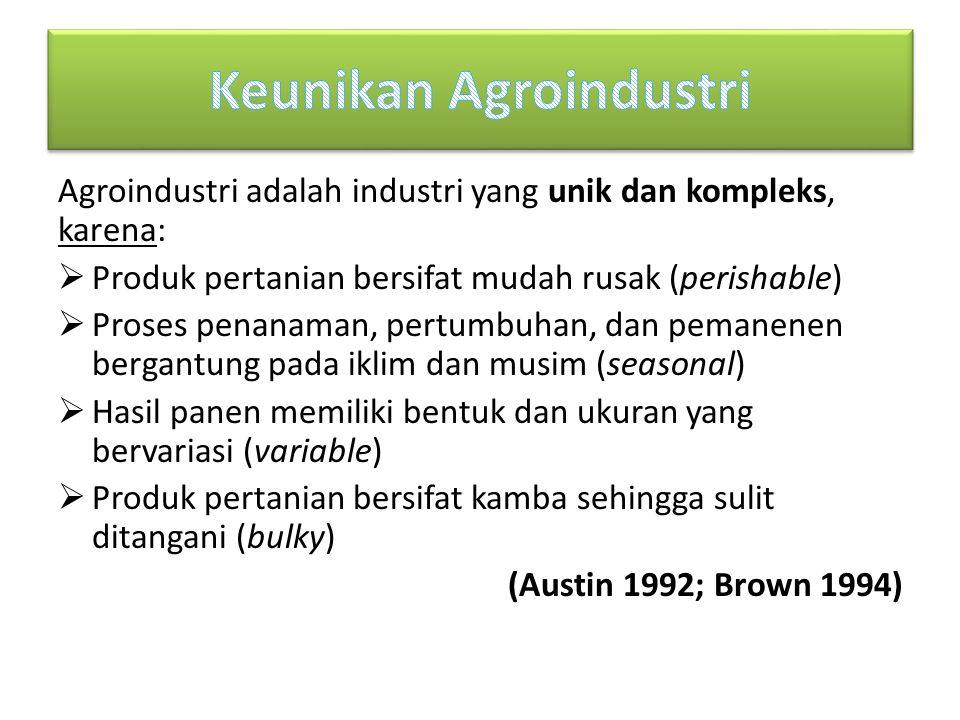 Keunikan Agroindustri