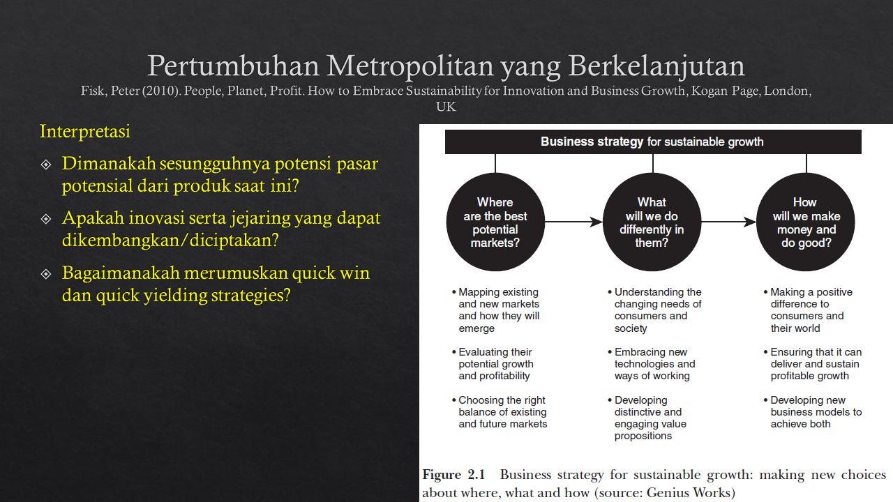 Pertumbuhan Metropolitan yang Berkelanjutan Fisk, Peter (2010)