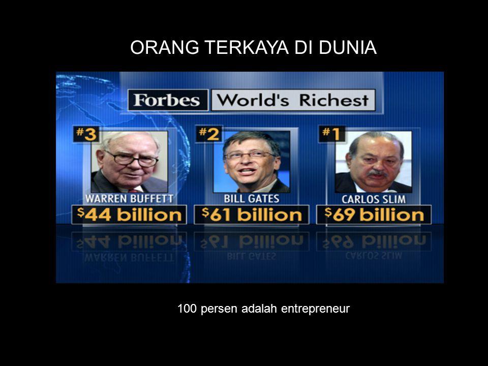 100 persen adalah entrepreneur