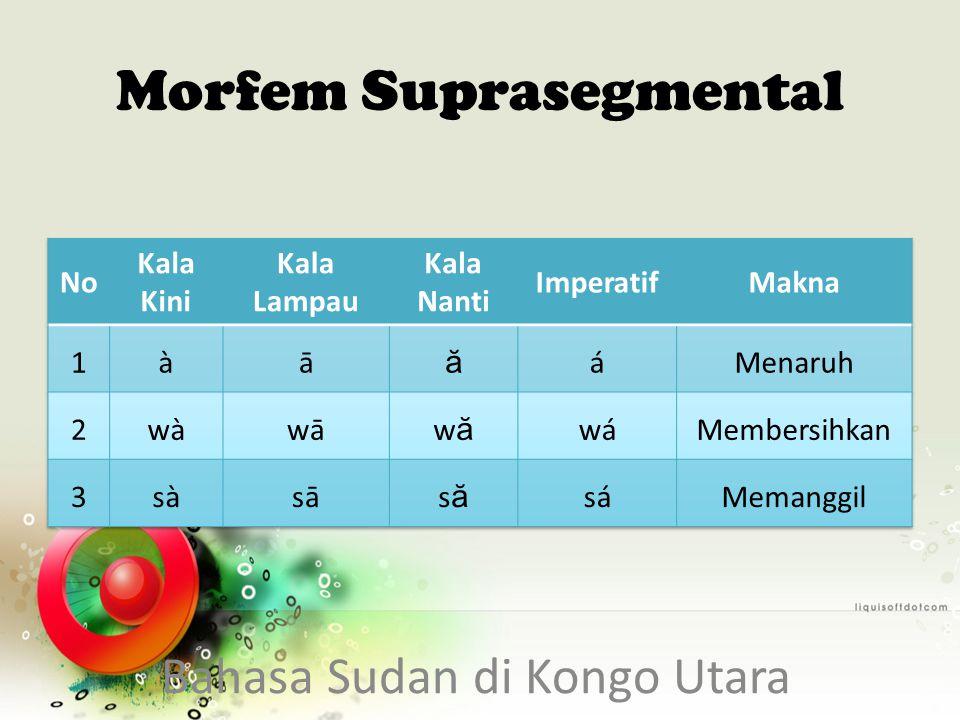 Morfem Suprasegmental