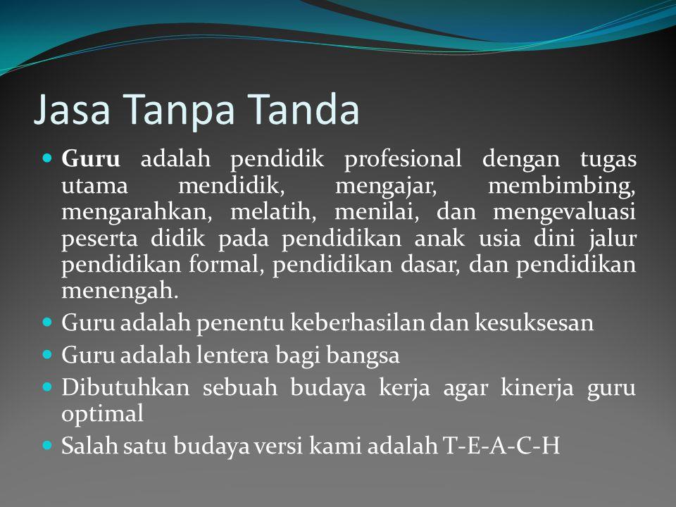 Jasa Tanpa Tanda