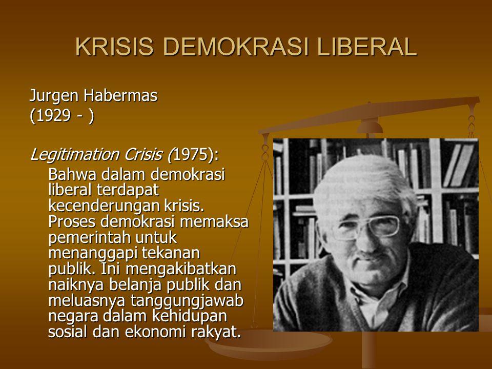 KRISIS DEMOKRASI LIBERAL
