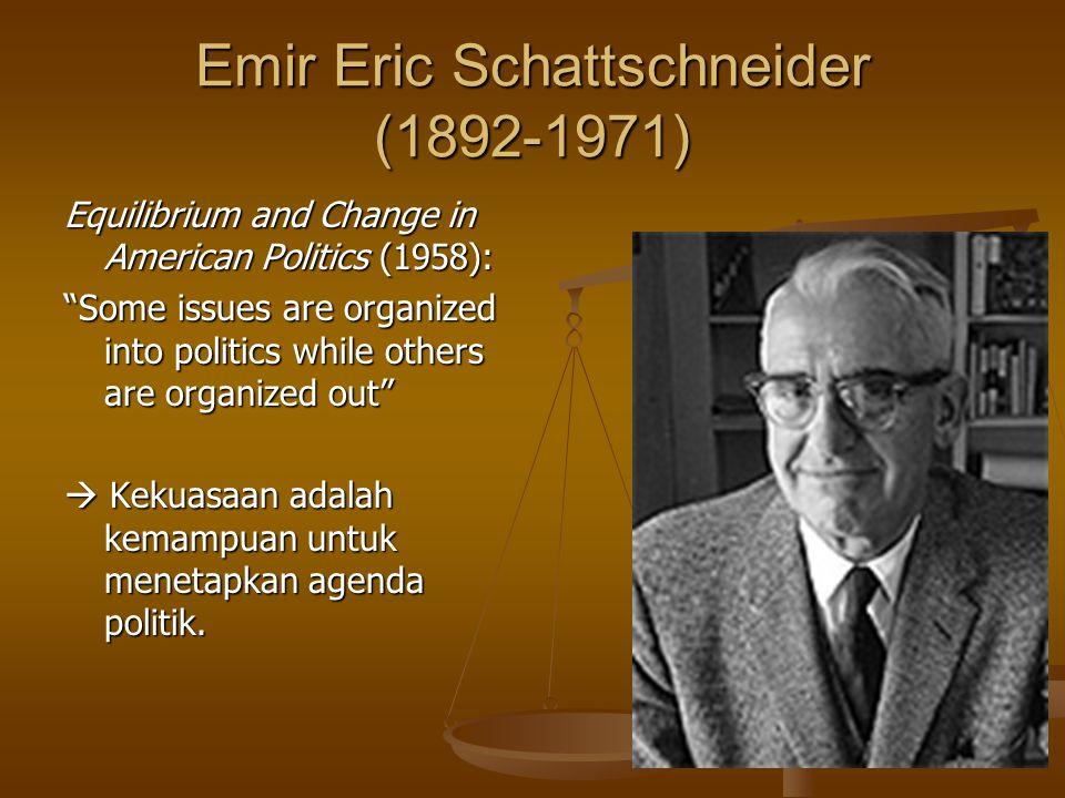 Emir Eric Schattschneider (1892-1971)