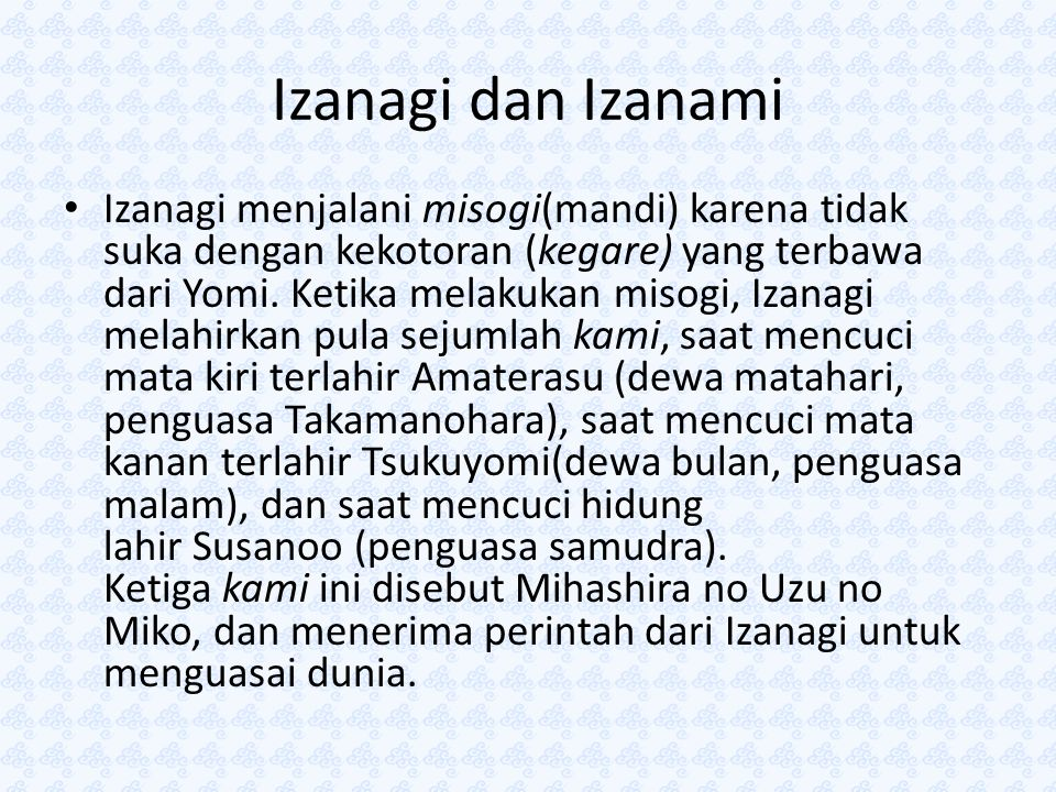 Izanagi dan Izanami