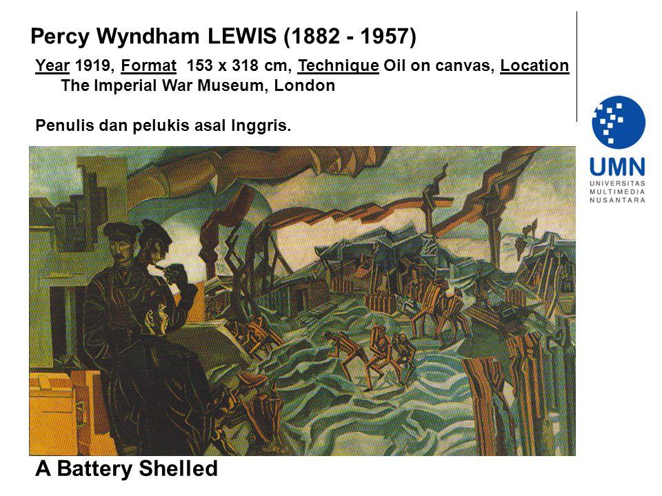 Percy Wyndham LEWIS (1882 - 1957)
