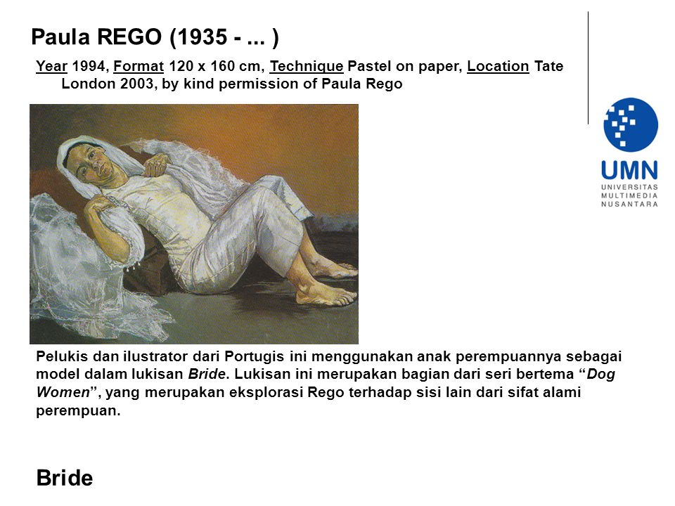 Paula REGO (1935 - ... ) Year 1994, Format 120 x 160 cm, Technique Pastel on paper, Location Tate London 2003, by kind permission of Paula Rego.