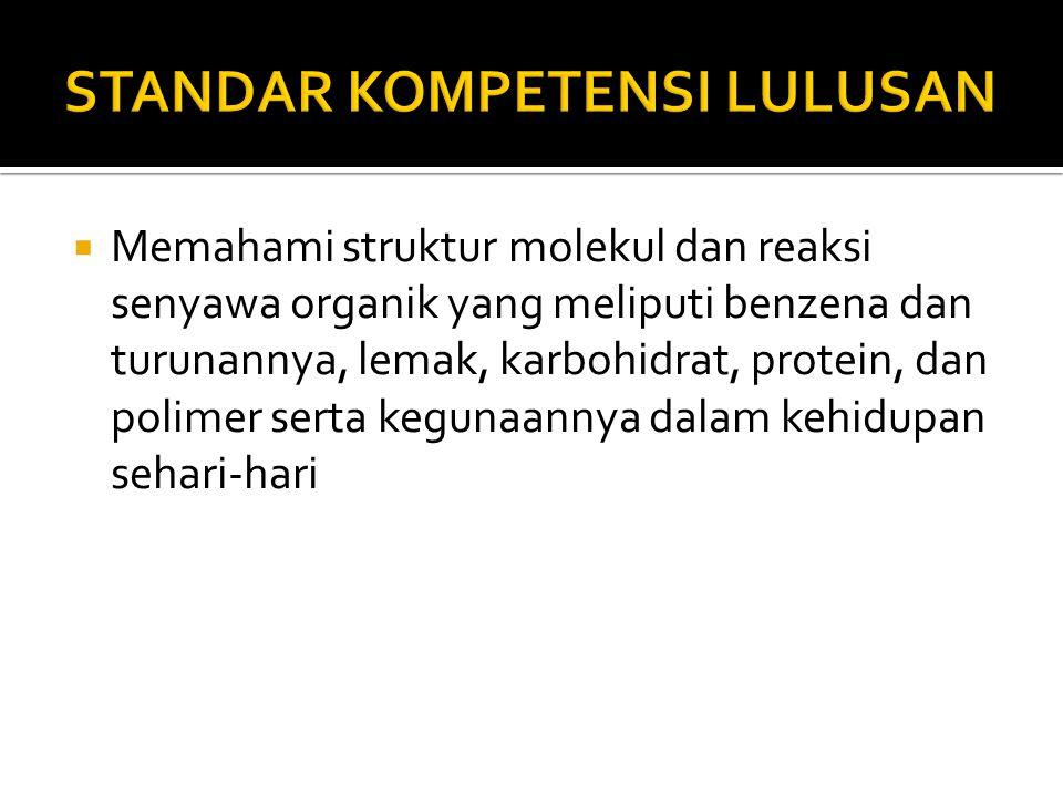 STANDAR KOMPETENSI LULUSAN