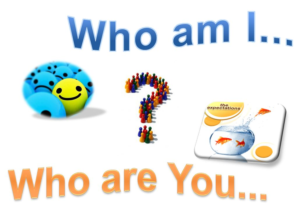 Who am I... Who are You...
