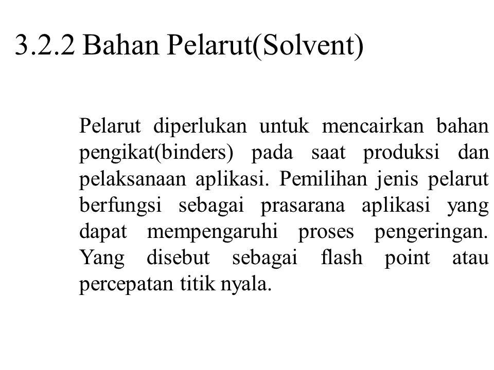 3.2.2 Bahan Pelarut(Solvent)