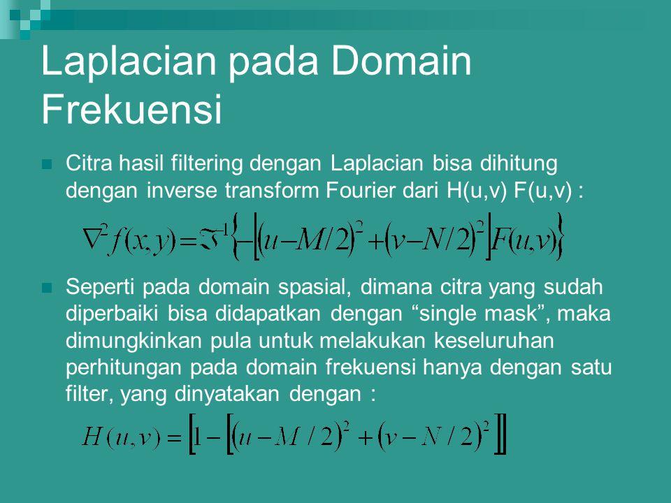 Laplacian pada Domain Frekuensi