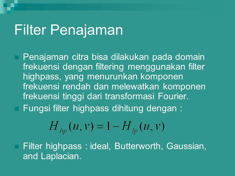 Filter Penajaman