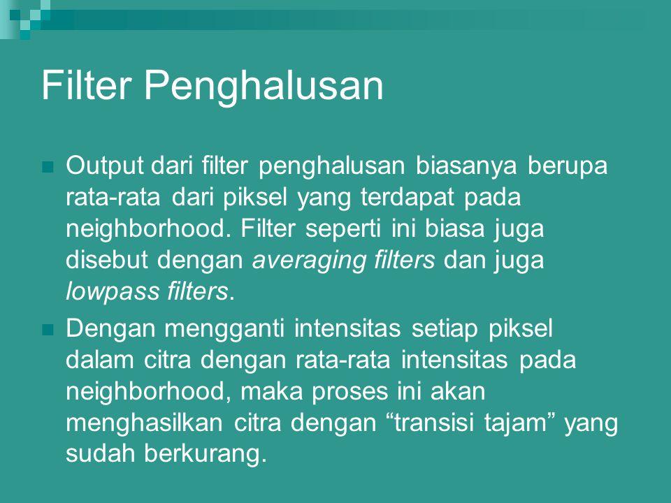 Filter Penghalusan
