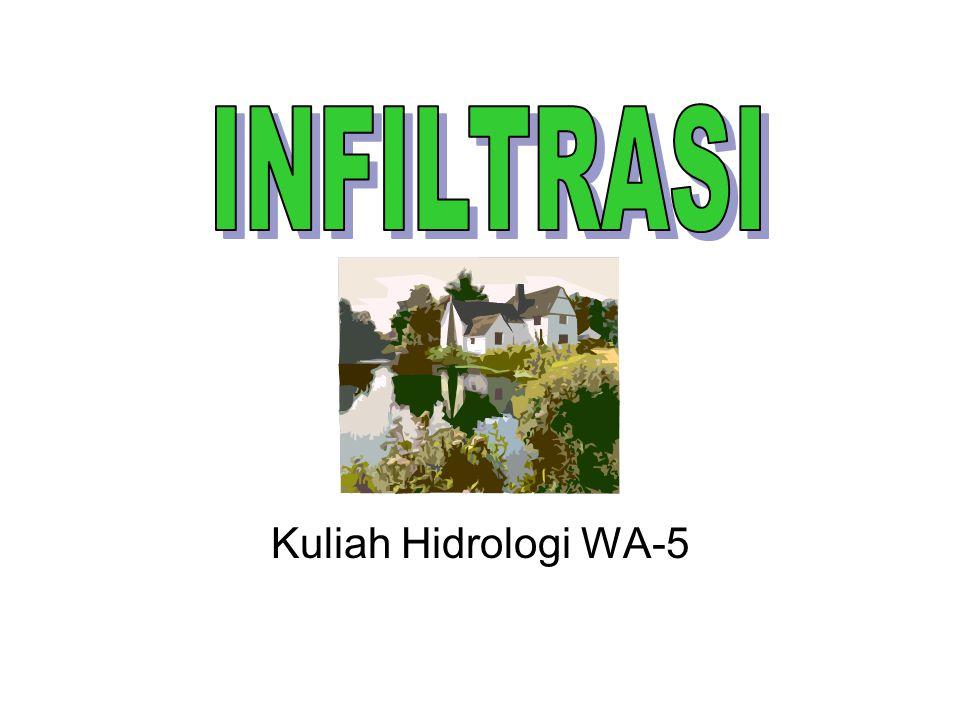 INFILTRASI Kuliah Hidrologi WA-5