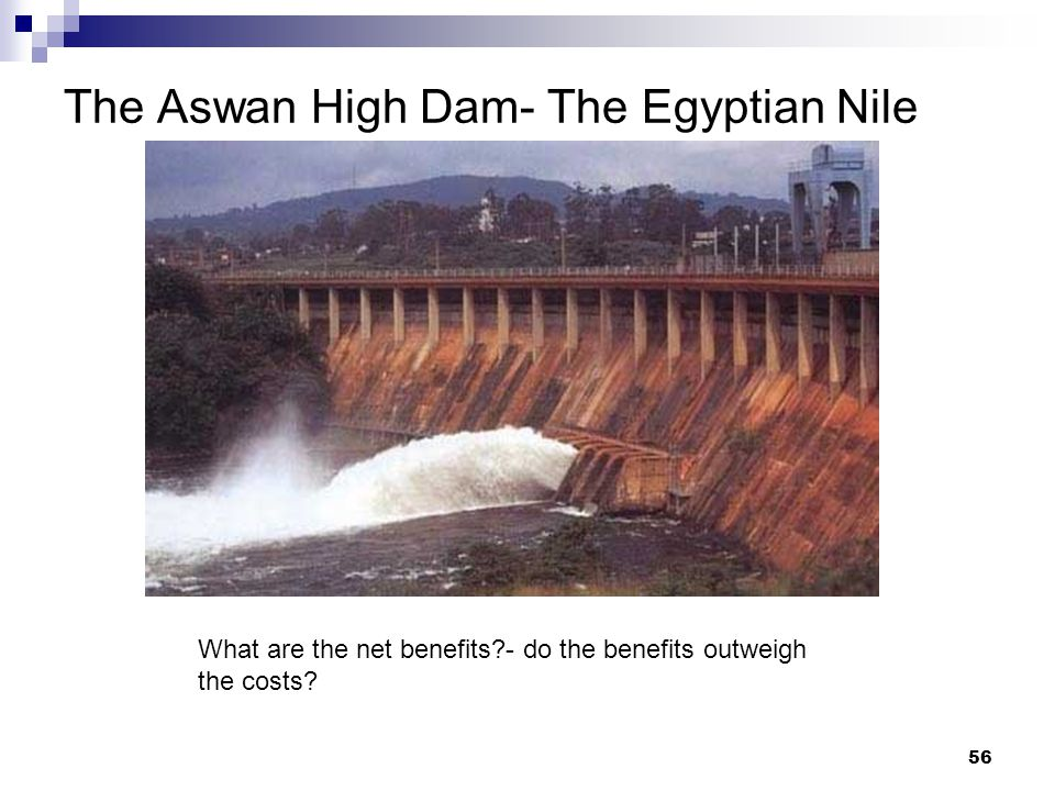 The Aswan High Dam- The Egyptian Nile